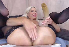 Milf russian anal blonde for that